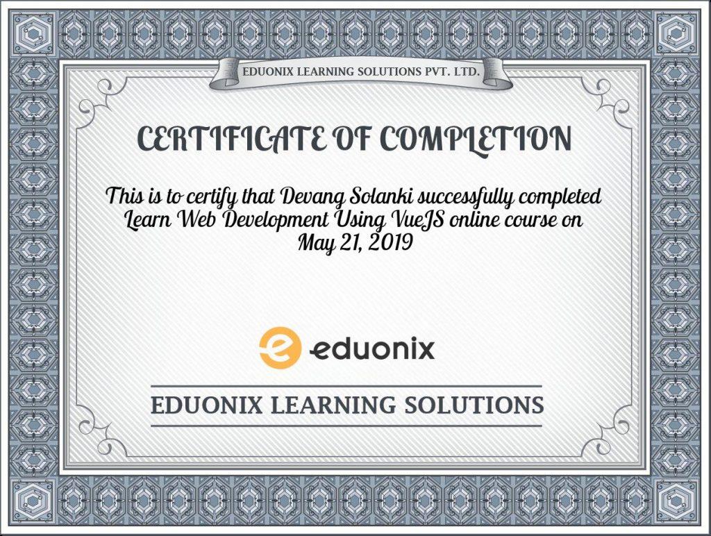 certificate-learn-web-development-using-vuejs