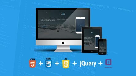 Free Build Responsive Website Using HTML5, CSS3, JS And Bootstrap Tutorial Discounted